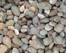 "25 lbs LARGE 1-3"" River Creek Rock Stone Aquarium Garden Pond Landscaping Craft"