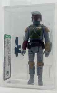 Kenner Star Wars Boba Fett HK AFA 80 loose vintage NEW CASE STYLE