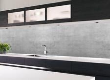 Küchennischen Deko Küchenrückwand Spritzschutz Wandschutz BETON Optik Neu
