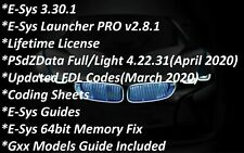 BMW E-Sys 3.30.1 & ESYS Launcher PRO 2.8.1 + PSdZData Full/Light 4.25.33 (OCT)