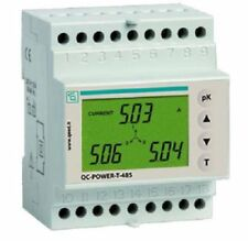QC-POWER-T-485: Energy meter trifase con display - RS485 Modbus MARCOM