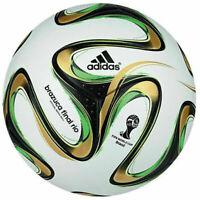 ADIDAS BRAZUCA - FIFA World Cup 2014 FINAL RIO OFFICIAL SOCCER MATCH BALL SIZE 5