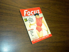 FOCUS magazine April 1952 mini 64 pages WHY MARRIED WOMEN PROWL KEAUVER SOEKARNO