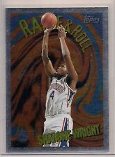 1995-96 Topps Rattle and Roll Sharone Wright #R4