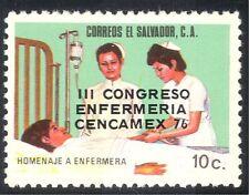 El Salvador 1976 Nurses' Congress/Nursing/Medical/Health/Welfare 1v o/p (n43153)