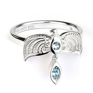 Official Harry Potter Sterling Silver Diadem Ring Size S