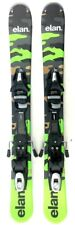 Elan Freeride 99cm Skiboards Short Skis Snowblades w. Elan Ski Bindings 2018