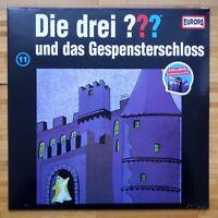 Die drei Fragezeichen und das Gespensterschloss 11 Picture Vinyl LP NEU OVP ???