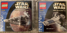 LEGO 4492 4493 Star Wars Star Destroyer & Sith Infiltrator Mini Building SET NEW