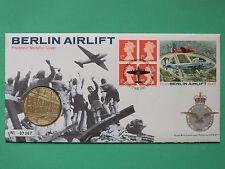 1999 50th anniversario di Berlino PONTE AEREO COPRI e medaglione SNo46233