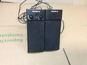 Gigabyte GP-S4600 USB Power Computer Speaker System MP3 Player