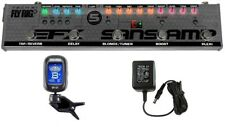 Tech 21 Fly Rig 5 V2 Multi-Effects Pedal Reverb Delay Blonde Boost Plexi (TUNER)
