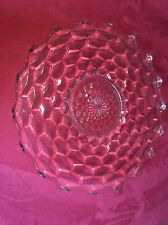 "Fostoria American Crystal Glass 19"" Torte Plate Platter Underplate Punch Bowl /"