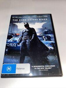 Batman The Dark Knight Rises DVD R4 Movie PAL