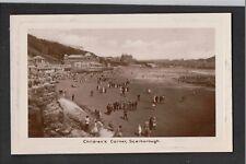 Childrens Corner Scarborough 1950's RP Postcard ~ SUPER IMAGE