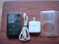 Apple iPod Classic 6th Gen160GB Black With Extras