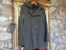 GAS Coat Military Style Dark Green Jacket *Size S*