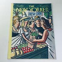 The New Yorker: Aug 8 1964 Peter Arno Farmer's Market Cover Full Magazine