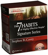 The 7 Habits of Highly Effective People - Signature Ser...Audio CD Free Shipping