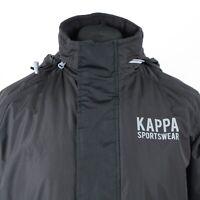 KAPPA Waterproof Fleece Lined Padded Jacket | Puffer Insulated Coat Vintage