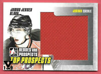 2015-16 Jordan Eberle ITG Final Vault 2009-10 Heroes & Prospects Jersey 1/1