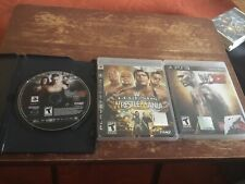 WWE 12 2010 Smackdown Raw Lot Legends of WrestleMania PlayStation 3 PS3 Tested
