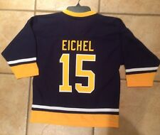 New! Buffalo Sabres Jack Eichel Jersey Size Youth Small 6/7 Blue NHL