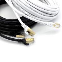RJ45 Chat 8 Câble Ethernet PC Jeu Xbox X PS4 PS5 Réseau Câble de Brassage Or Lot