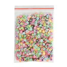 1000 PCS Nail Art Mixed Fimo Slices Polymer Clay Stickers Decoration Manicure