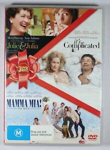 julie & Julia / Its Complicated / Mamma Mia DVD FREE POST