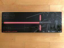 Star Wars Episode VII Black Series Kylo Ren Force FX Deluxe Lightsaber NISB