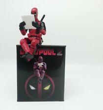 Marvel Deadpool Q ver Mini Pocket Figures Instant Noodles Cover Graphics Card