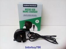 Carphone warehouse Micro usb mains charger 1.2m,smart phones,mps,digital cameras