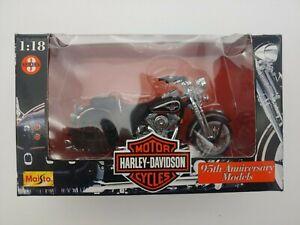 Maisto Series 3 Harley-Davidson FLSTS Heritage Springer 1/18 New In Box