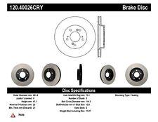 StopTech Premium Brake Rotor Front Fits Acura 120.40021 * Honda Civic