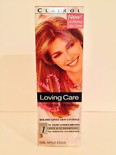 Loving Care 76 Light Golden Brown Color Creme Hair Color Clairol