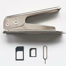 Micro SIM auf Nano SIM Karten Stanzer Stanze Cutter Schneider Adapter Smartphone