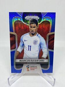 2018 Panini Prizm World Cup Marcus Rashford Blue Prizm Refractor /199 💎💎🔥🔥