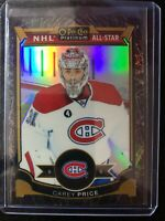 2015-16 Carey Price Black Ice OPC O-PEE-CHEE PLATINUM /99