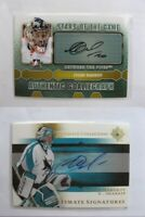 2005-06 Ultimate collection US-NA Nabokov Evgeny  ultimate signatures  sharks