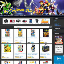POKEMON TOYS STORE - Affiliate Website Business For Sale, Toy, Plushy, Game Etc!