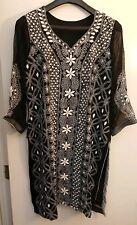 Desi Pakiatani/Indian Shalwar Kameez Embroided Partywear