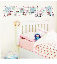 Erzähl eine Geschichte Wandsticker Minnie Mouse Mädchenzimmer