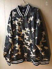 Jackson Womens Plus Size XL Camouflage Button Up Jacket Green Black Striped
