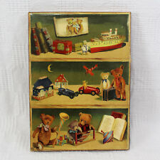 Fabrice De Villeneuve Numbered Print Toys and Books on Toy Shelf