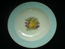 Crown Ducal Pera/Cereza/Negro Bayas 9 in (approx. 22.86 cm) Placa