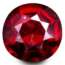 0.910CTS Superior sparkling red natural spinel oval loose gemstones see video