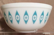 Rare Pyrex Atomic Eyes Eye Chip Dip Large Mixing Bowl MCM Mid Century Vintage