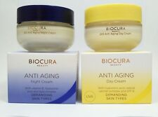 Biocura Q10 Anti Aging Cream Wrinkle Day And Night for Radiant Skin Pack 2x 50ml