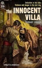 CONRAD, Barnaby - THE INNOCENT VILLA  Avon 537, 1953
